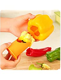 Investment 2pc/set Gadgets Pepper Tomato Corers Fruit Vegetable Core Remover Coring Separator Device Gear Stuff Kitchen Tools occupation