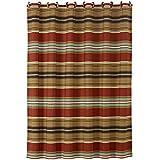 HiEnd Accents Calhoun Western Shower Curtain, 72 x 72''