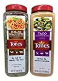 Tones Italian Spaghetti and Taco Seasoning Combo
