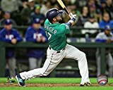 """Mitch Haniger Seattle Mariners Action Photo (Size: 8"""" x 10"""")"""