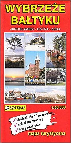 Wybrzeze Baltyku Mapa Turystyczna 1 50 000 Polish Edition
