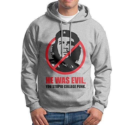 Marc Men's Che Guevara Hooded Sweatshirt Ash Size XL ()