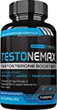 TestoneMax Testosterone Booster - Super Effective All Natural Test Booster Supplement w/Epimedium Extract, Eurycoma Longifolia, Boron, and more - Boost Energy, Strength, Drive, Muscle Buil