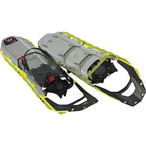 (MSR Revo Explore All-Terrain Snowshoes, 25-Inch Pair, Chartreuse)