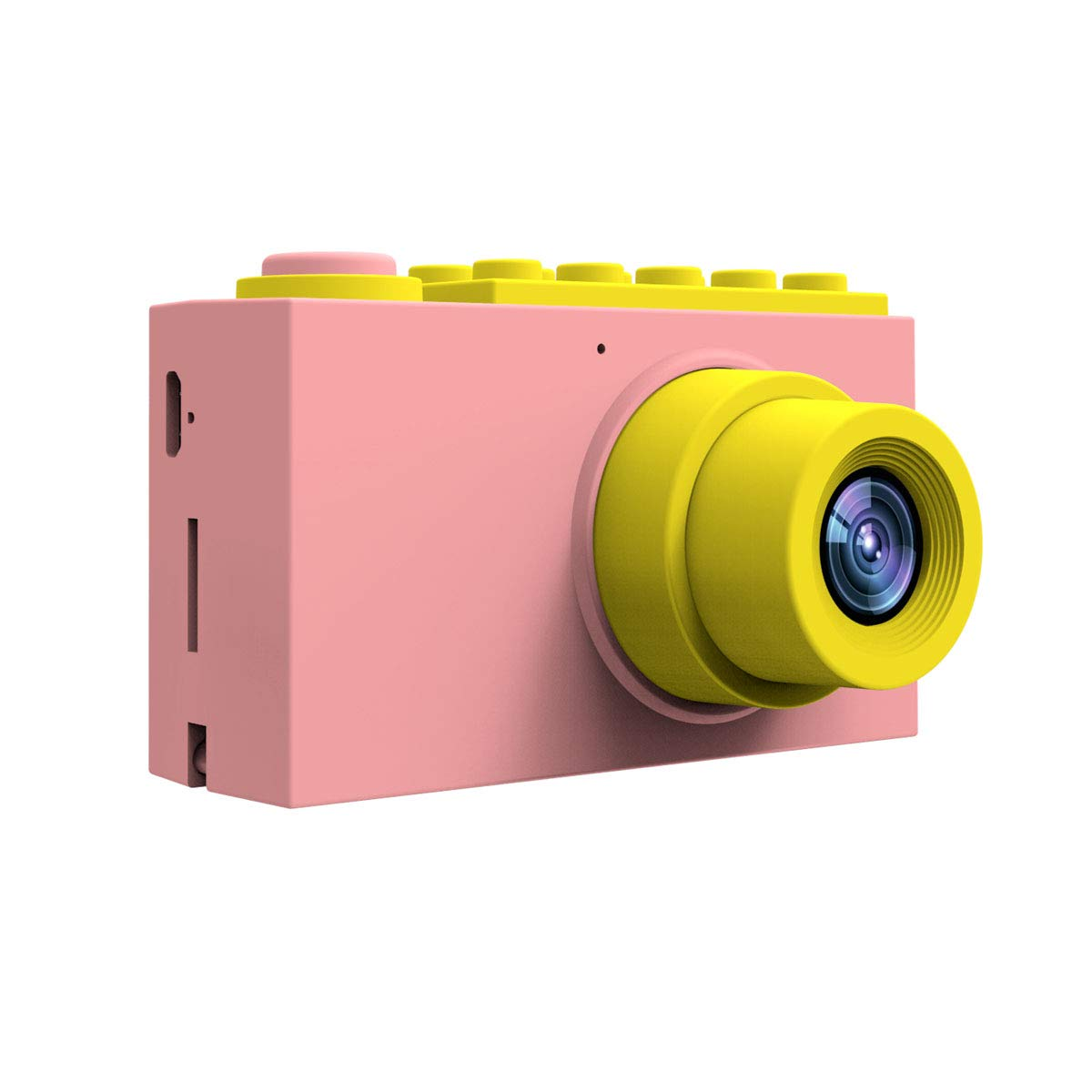 "MAGENDARA yt004 Kids Digital Camera HD 1080P Children Camera 2.0"" Screen Toy Camera Girls Birthday Pink"