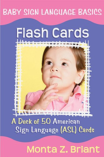 Baby Sign Language Flash Cards: A 50-Card Deck by Hay House
