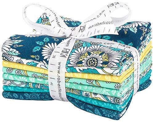 Andie Hanna Delphine Breeze 8 Fat Quarters Robert Kaufman Fabrics FQ-1351-8