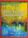 Basic College Mathematics Plus MyWorkBook and Video Resources on DVD with Chapter Test Prep, Lial, Margaret L. and Salzman, Stanley, 0321941861