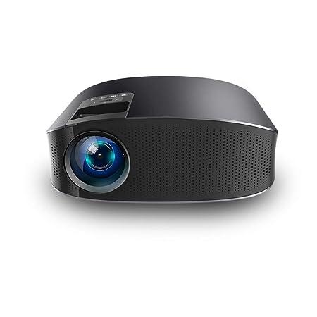 Proyector LED, teléfono móvil con Mini proyector HD para el hogar ...