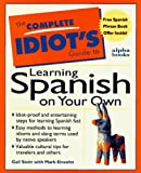 Complete Idiot's Guide to Learning Spanish, Marc Einsohn and Gail Stein, 0028610407