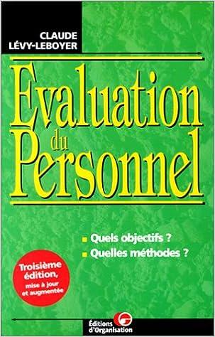 En ligne téléchargement L'évaluation du personnel epub pdf