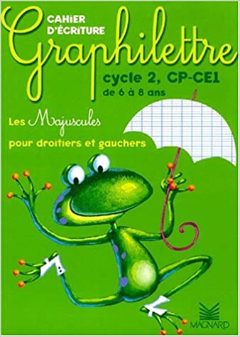 Graphilettre Cycle 2 Cp-ce1 Majuscules Edit 2002 (French Edition)