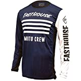 Fasthouse FH Stripes L1 Men's Motocross Motorcycle Jersey Navy 3X-Large