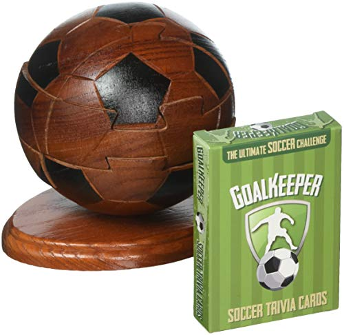 Project Genius Ultimate Sports - Trivia Combination: Soccer - Brain Teaser Puzzle, Wooden ()