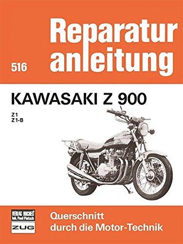 Kawasaki Z 900 - Z1 / Z1B (Reparaturanleitungen)