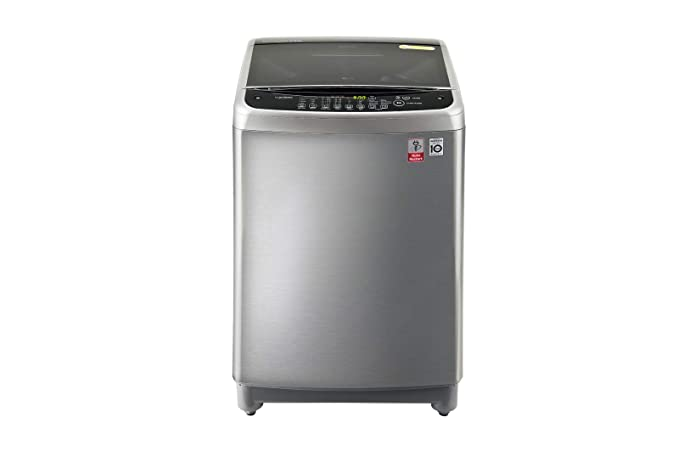 LG 9 Kg Inverter Fully-Automatic Top Loading Washing Machine (T1077NEDL5, Fee Silver) Washing Machines & Dryers at amazon