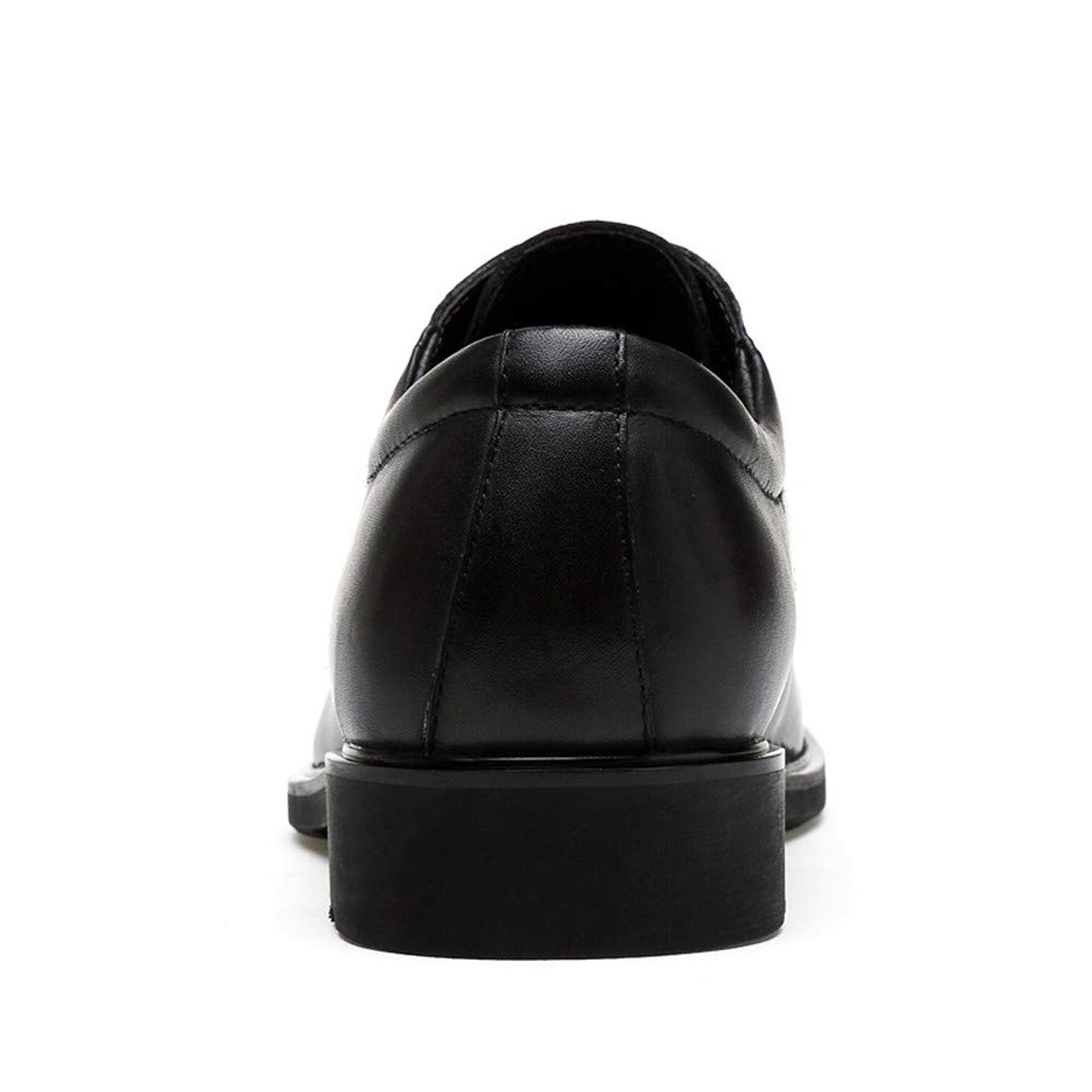 Ofgcfbvxd Business Ankle Schuh für Herren Klassische Krokodil-Muster-Geschäfts-Oxford-Leder-Formale Hochzeit Schuhe für Anzug Kleid Hochzeit Krokodil-Muster-Geschäfts-Oxford-Leder-Formale Arbeit (Farbe : Braun, Größe : 42 EU) Schwarz 542e74