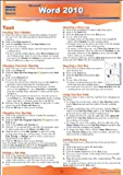 Word 2010 Advanced Quick Source Guide, , 1935518127