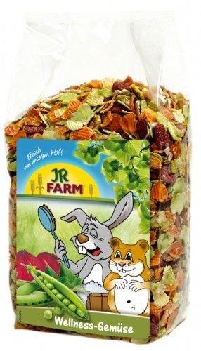 Jr Farm Wellness verduras 600 g. Comida para roedores Jrfarm