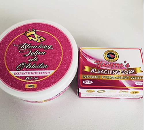 Authentic NAVARRO's Bleaching Lotion (200ml) & NAVARRO'S Soap (135g)