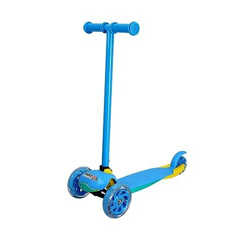 Fascol Patinete Plegable de 3 Ruedas para niños de 2 - 5 Años, Scooter 3