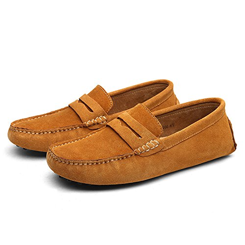 Mocassini Mocassini DUORO Loafers Marrone On Slip Uomo Classic wwvafp