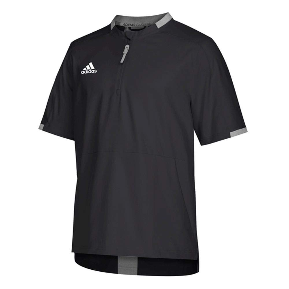 adidas Fielders Choice 2.0 Cage Jacket Men's Baseball XXL Black-Core Heather XXL Black/Core Heather by adidas
