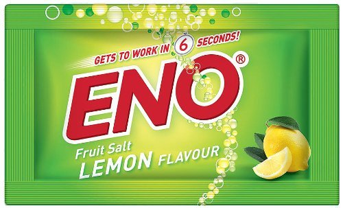 Eno Fruit Salt Lemon Herbs Flavor Relief From Acidity Problem 60pcsx5g Sachets by ()
