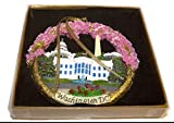 President Souvenirs Christmas Ornament/Washington DC Monuments Ceramic