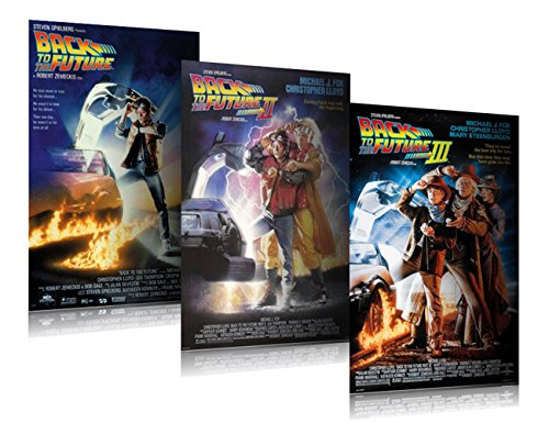 Back Movie Poster (Back To The Future I, II, III - Movie Poster Set (3 Full Size Movie Posters) (Size: 27'' x 40'' each))