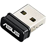 ASUS BT400 - Adaptador de red (Bluetooth 4.0, USB 2.0 Nano), negro