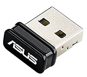 ASUS USB Bluetooth Adapter 4.0 Dongle. Micro Plug and Play with Integrated Antenna Model USB-BT400