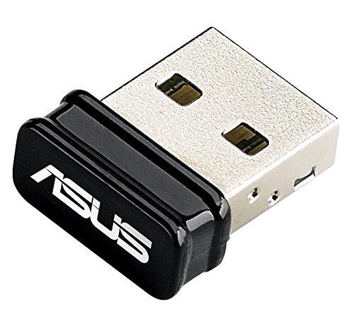 Asus USB-BT400 Nano Bluetooth-Stick (Bluetooth 4.0, Windows 10/8/7/XP (32/64 Bit)) schwarz