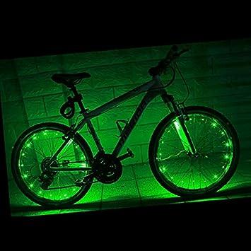 Eleganantamazing - Luces LED para Bicicleta, luz Colorida para ...