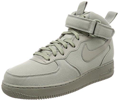 Nike Air Force 1 Mid '07 Canvas Mens Shoes Dark Stucco/Dark Stucco ah6770-001 (9.5 D(M) US)