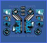 Ecoshirt RH-DW0M-H2S Stickers Fork Fox Float 36