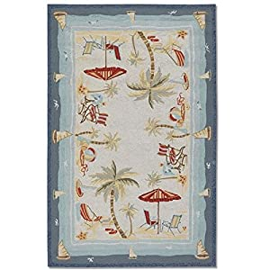 516BctkjlAL._SS300_ Best Tropical Area Rugs