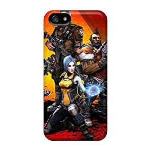 Durable Defender Case For Iphone 5/5s Tpu Cover(borderlands 2 Heroes)