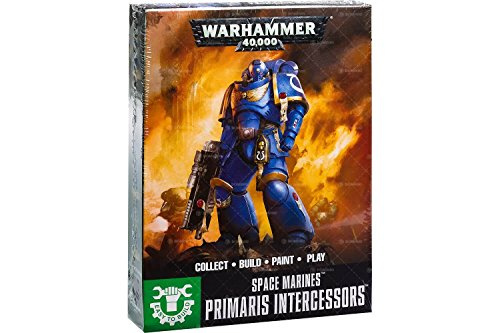 Games Workshop Warhammer 40k Easy to Build Space Marine Primaris - Marine Warhammer Space 40k