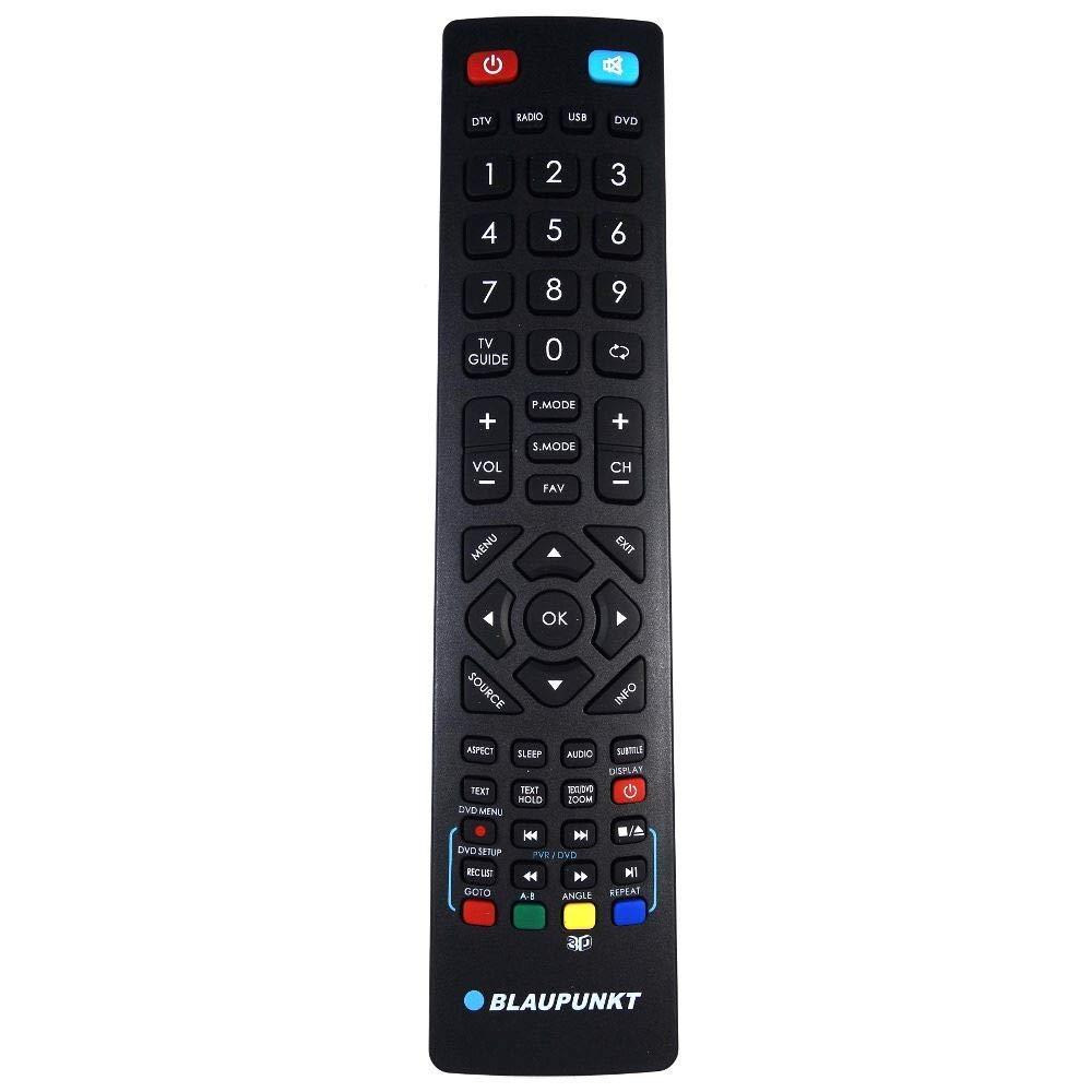Mando Original de TV Recambio para Blaupunkt 32-136I-WB-11B-HKU-UK ...