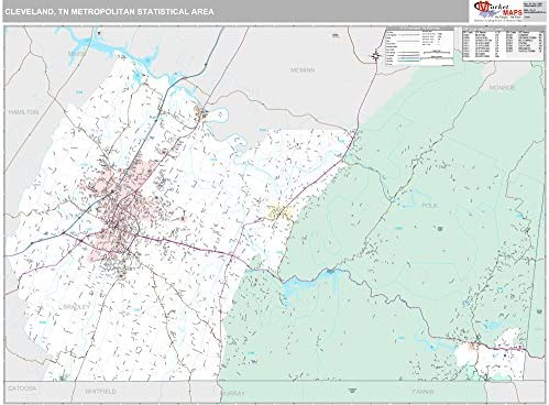 Cleveland Tn Map on