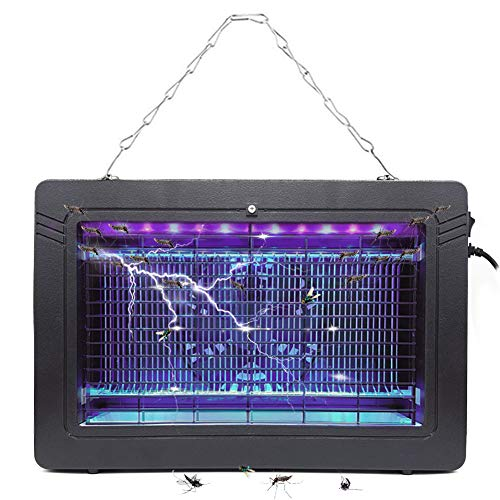Bug Zapper Electronic Insect Killer with UV Light Lamp High Voltage Mosquito Killer for Fly Zapper Moth, Wasp, Beetle & Other Pests Killer in Indoor -