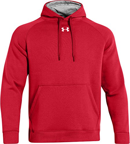 Under Armour Men's UA Every Team Fleece Hoodie - XX-Large - Red
