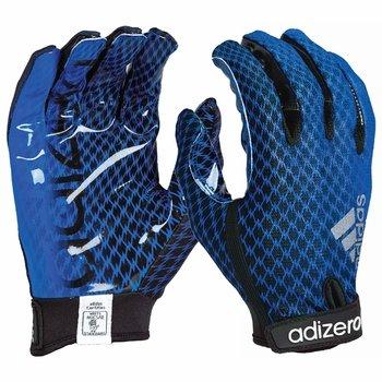 Adidas Adizero 5 Star 3.0 Football Gloves, Black/ Sky Blue, Large (Adizero Football Gloves compare prices)