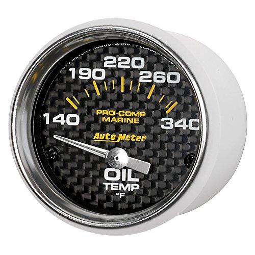Auto Meter AutoMeter 200764-40 Gauge, Oil Temp, 2 1/16
