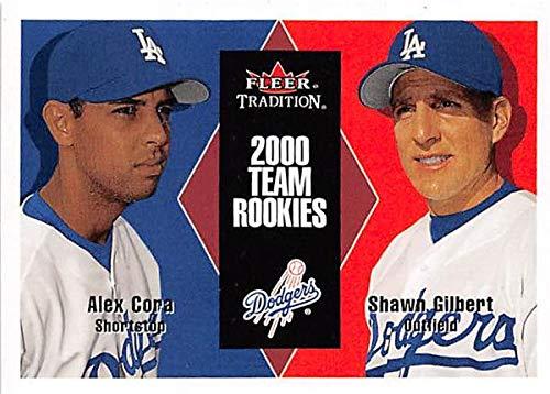 Alex Cora baseball card rookie (Dodgers Bosotn Red Sox Manager World Series 2018) 2000 Fleer Tradition #U110 Shawn Gilbert