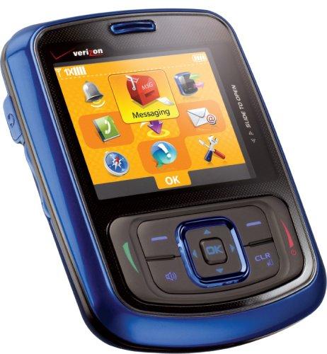 amazon com verizon wireless blitz phone blue verizon wireless rh amazon com Verizon Wireless XV6900 Touchcreen It Is Verizon Wireless Razzle