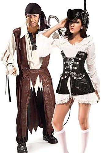 Parejas Hombre y mujer del Caribe BELLACO Pirata Fiesta ...