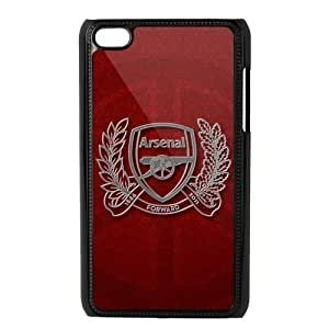 Arsenal Football Club Ipod Touch 4 Case Hard Plastic Arsenal FC Soccer Football Ipod Cover HD Image Snap ON