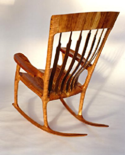 Amazoncom Build Your Own Front Porch Rocking Chair Pattern Diy